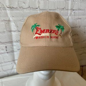 Embers I Love Beach Music Adjustable Hat Cap